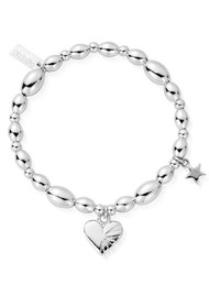 ChloBo Cosmic Connection Sacred Love Bracelet - Silver