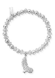 ChloBo Cosmic Connection Guiding Light Bracelet - Silver