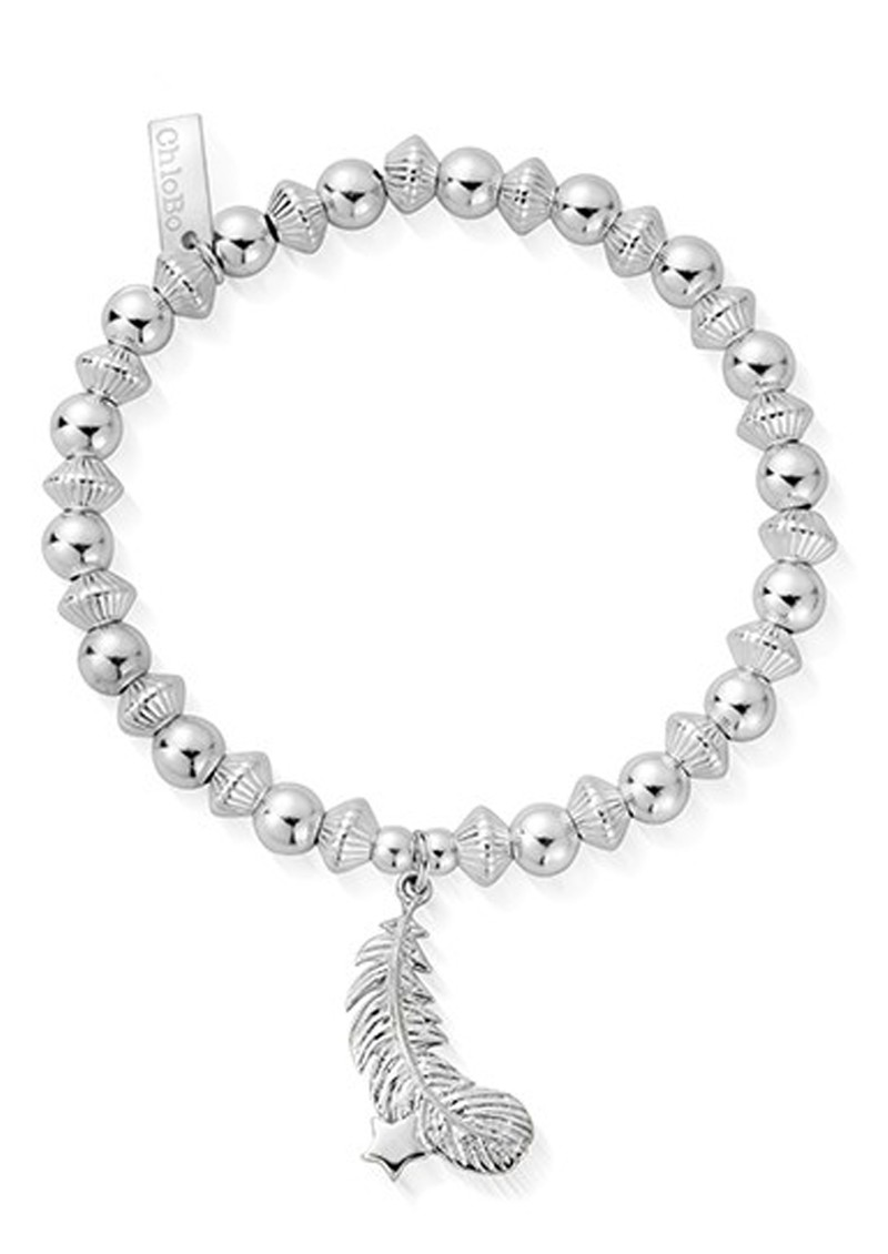 ChloBo Cosmic Connection Guiding Light Bracelet - Silver main image