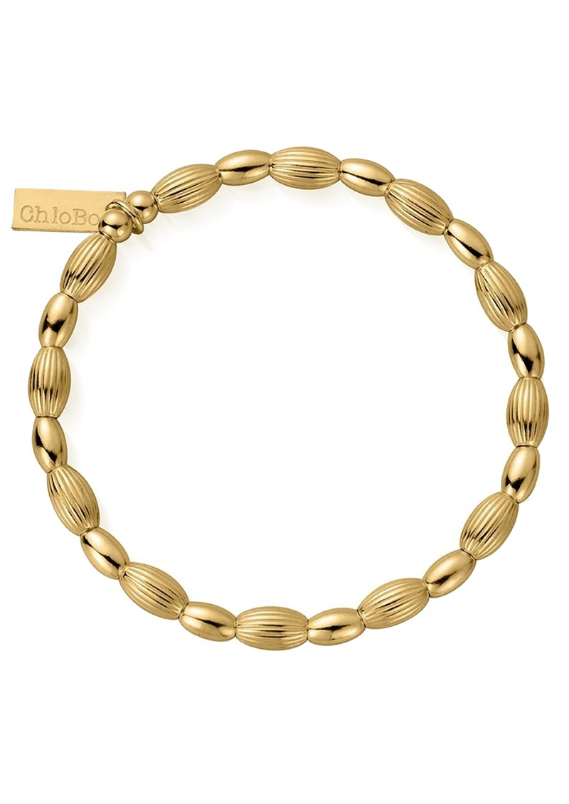 ChloBo Cosmic Connection Double Rice Bracelet - Gold main image