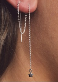 ChloBo Cosmic Connection Dream Achiever Earrings - Silver