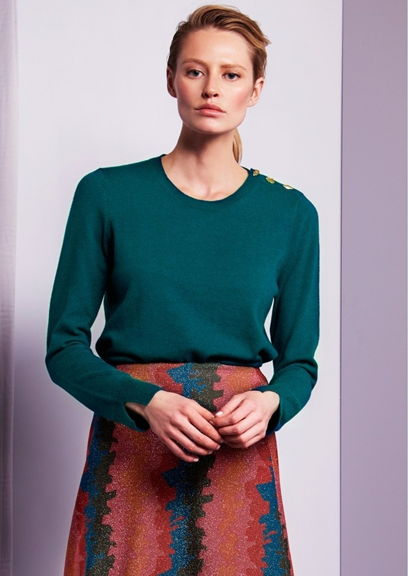 FABIENNE CHAPOT Molly Jumper - Real Teal main image