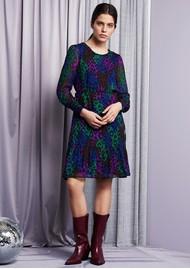 FABIENNE CHAPOT Bonnie Dress - Patchy Leopard