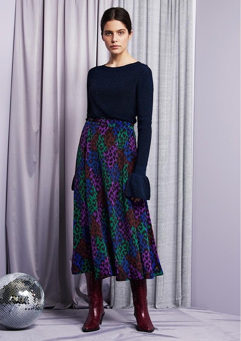 FABIENNE CHAPOT Wonder Skirt - Patchy Leopard main image