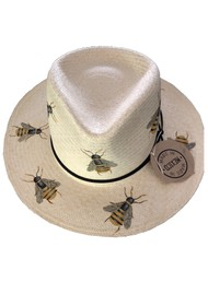 POOK HATS Classic Bee Hat - Natural