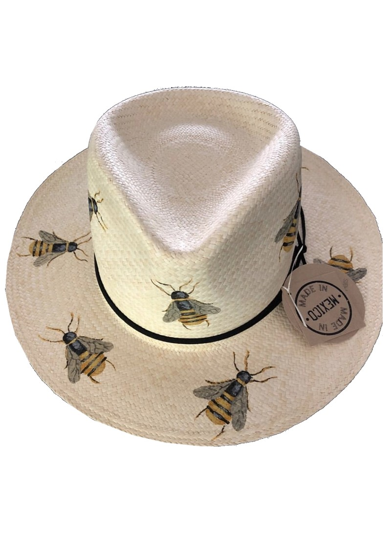 POOK HATS Classic Bee Hat - Natural main image