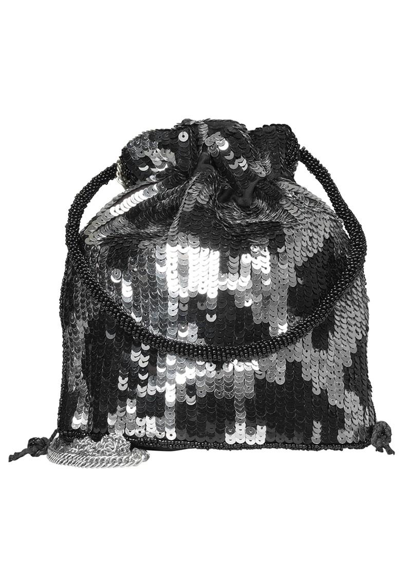 Becksondergaard Una Tora Sequin Bag - Silver main image