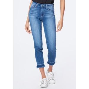 Hoxton Slim Crop Undone Hem Jeans - Plaza