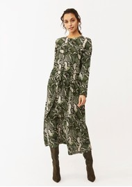 Twist and Tango Isabel Python Dress - Green Snake