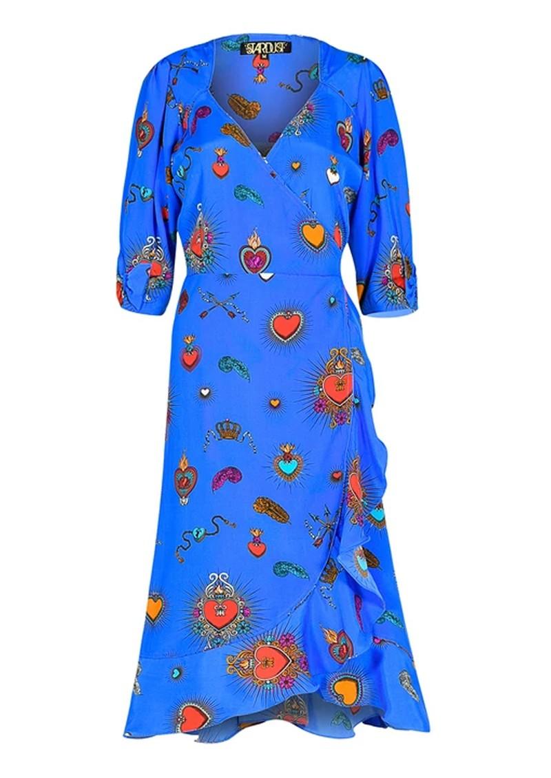 STARDUST Sweetheart Heart Dress - Blue main image