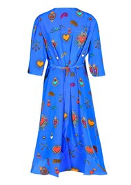 STARDUST Sweetheart Heart Dress - Blue