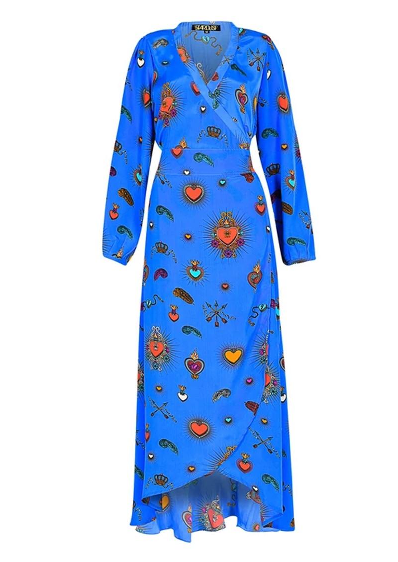 STARDUST Vivian Heart Dress - Blue main image