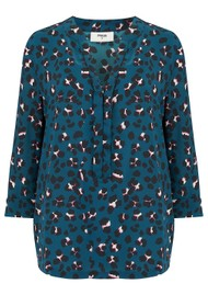 Pyrus Exclusive Animal Paola Blouse - Animal Print