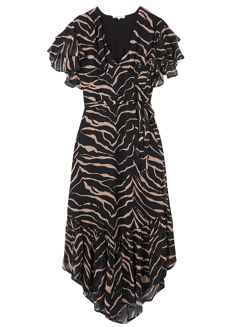 Lily and Lionel Drew Dress - Tiger Black main image