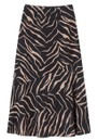 Lily and Lionel Lottie Silk Skirt - Tiger Black
