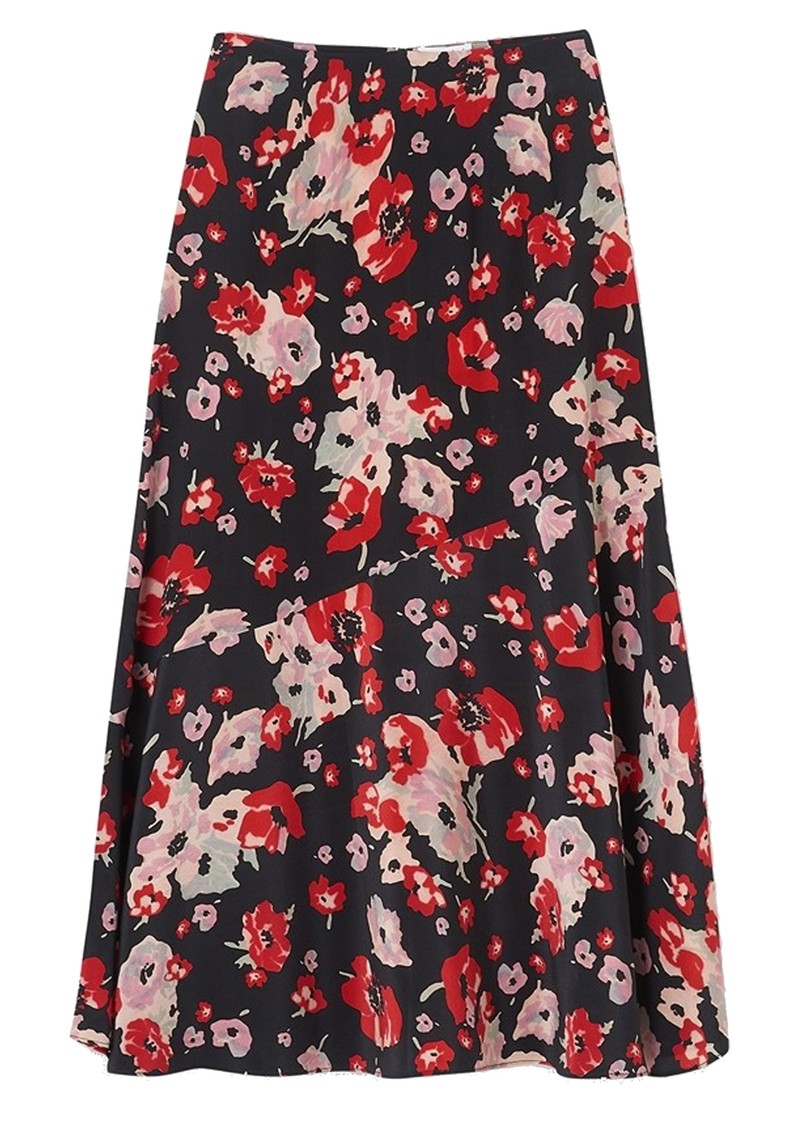 Lily and Lionel Lottie Silk Skirt - Sweet Pea main image