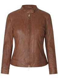 Day Birger et Mikkelsen  Day Baldizi Leather Jacket - Figue