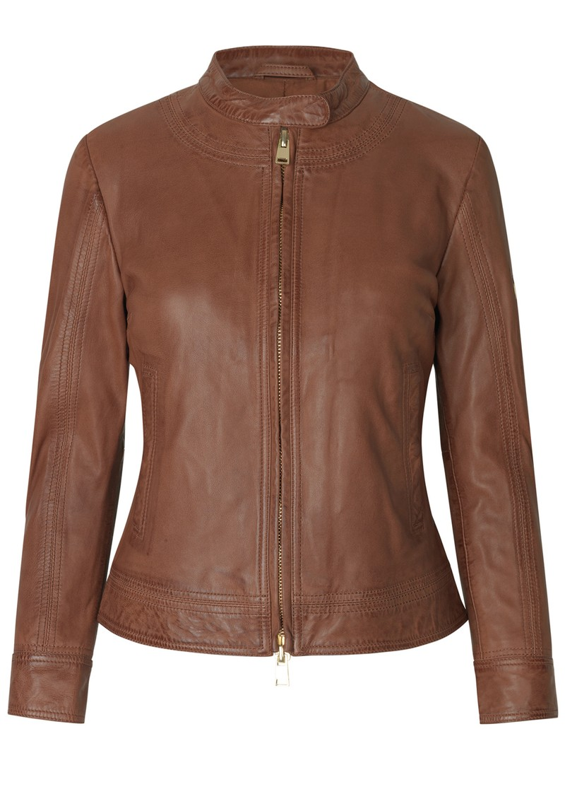 Day Birger et Mikkelsen  Day Baldizi Leather Jacket - Figue main image