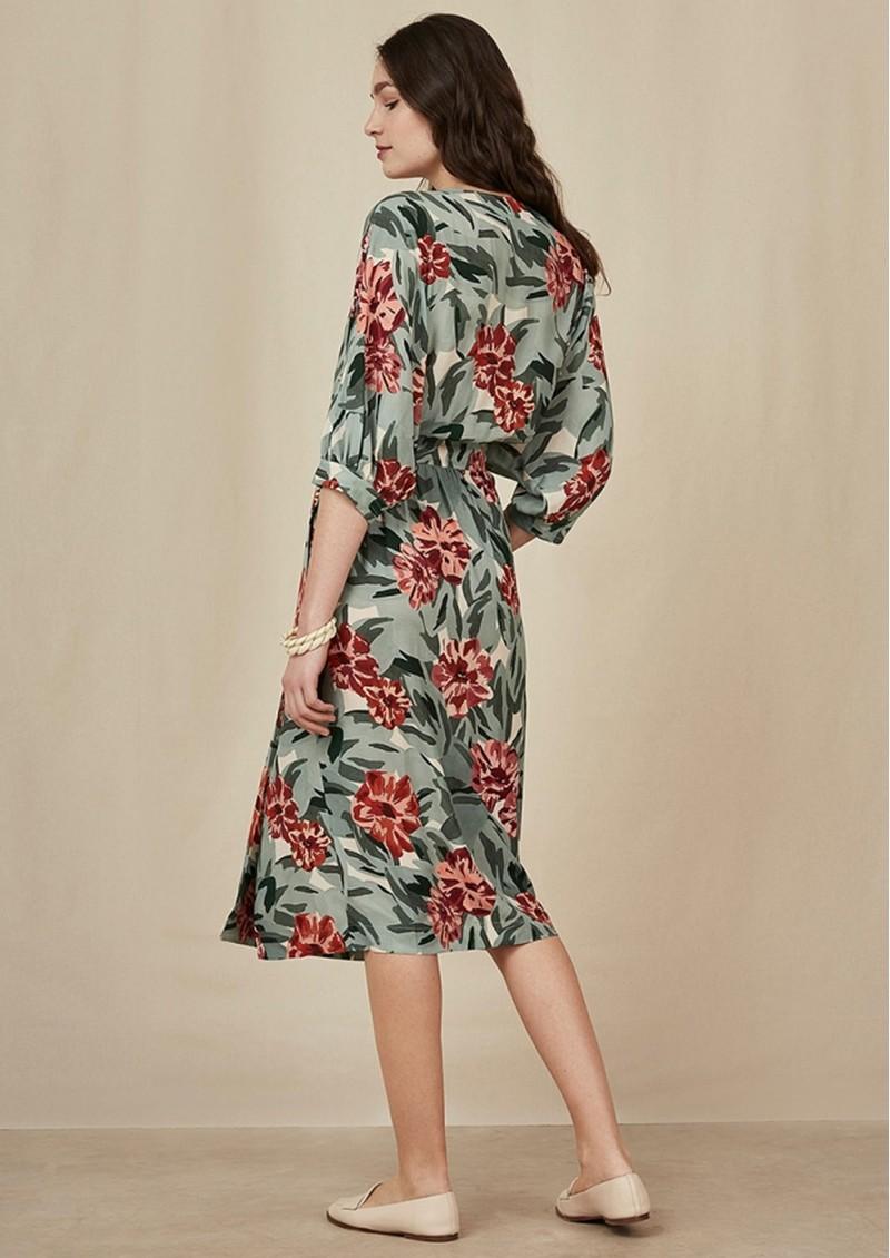 Des Petits Hauts  Sidiki Floral Dress - Lison  main image