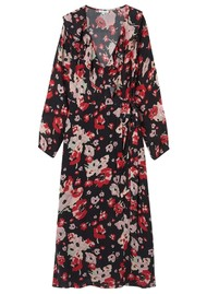 Lily and Lionel Trixie Long Sleeve Wrap Dress - Sweet Pea