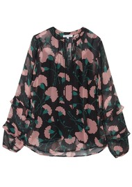 Lily and Lionel Rina Blouse - Peony