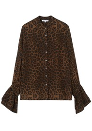 Lily and Lionel Bailey Shirt - Safari Tobacco