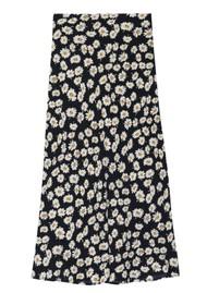 Rails London Skirt - Black Daisies