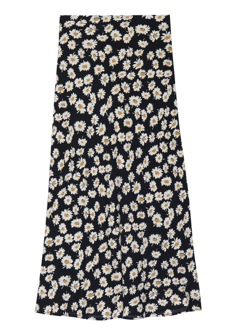 Rails London Skirt - Black Daisies  main image