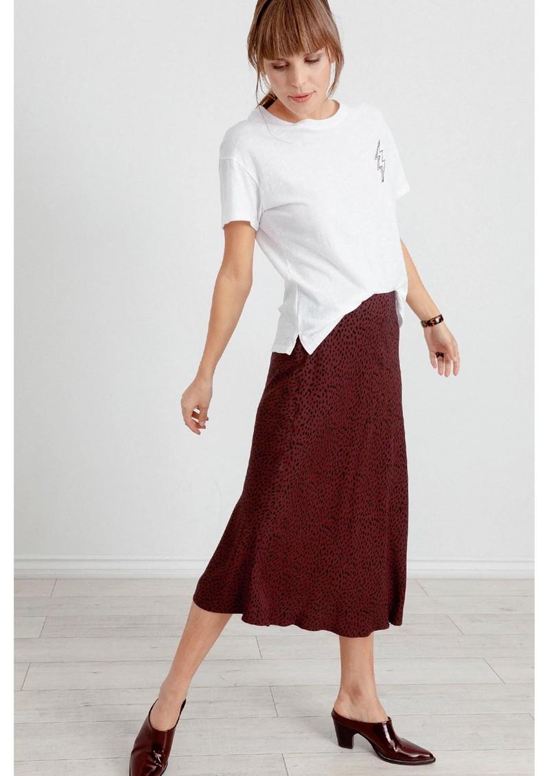 Rails London Skirt - Rust Spotted main image