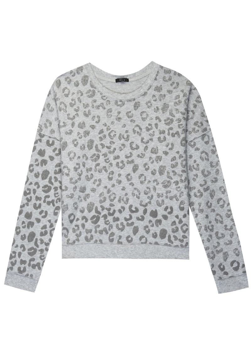 Marlo Sweater - Grey Leopard main image