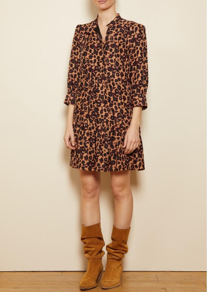 Ba&sh Tiana Dress - Camel main image