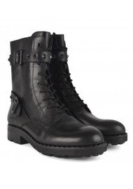 Ash Witch Bis Biker Boots - Black