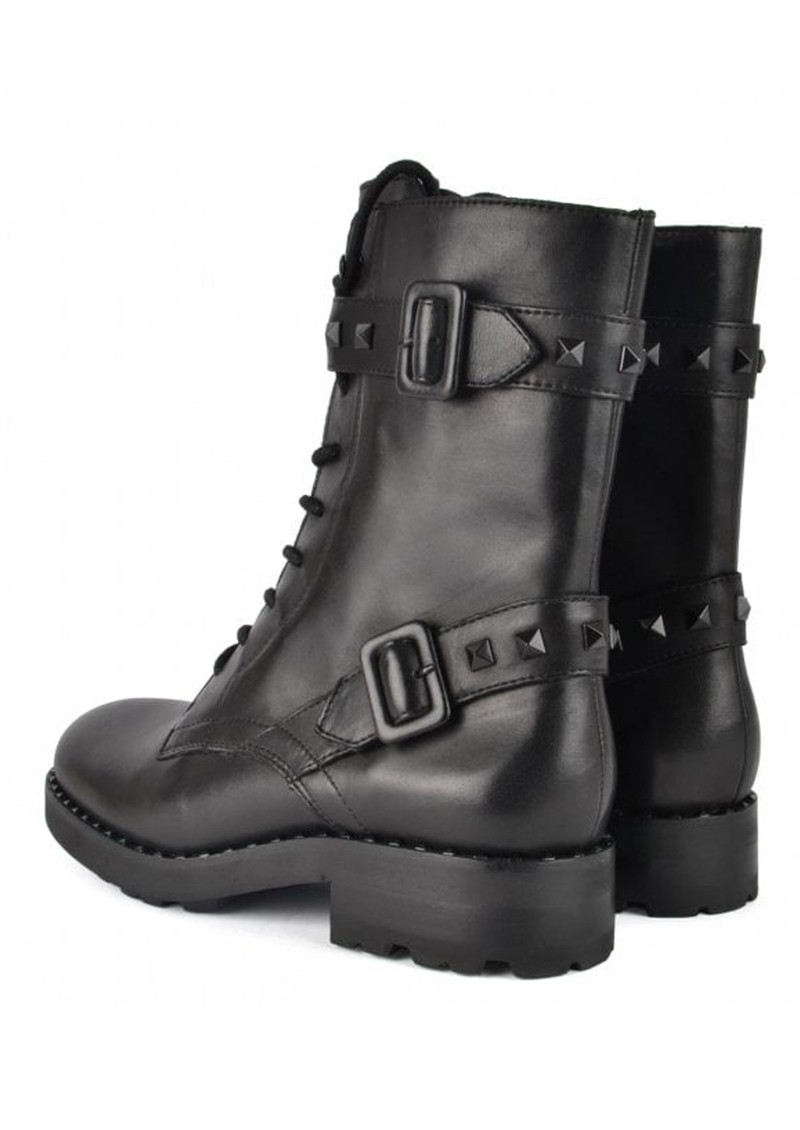 Ash Witch Bis Biker Boots - Black main image