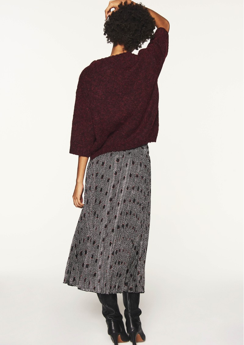 Ba&sh Pichu Midi Skirt - Dark Night main image