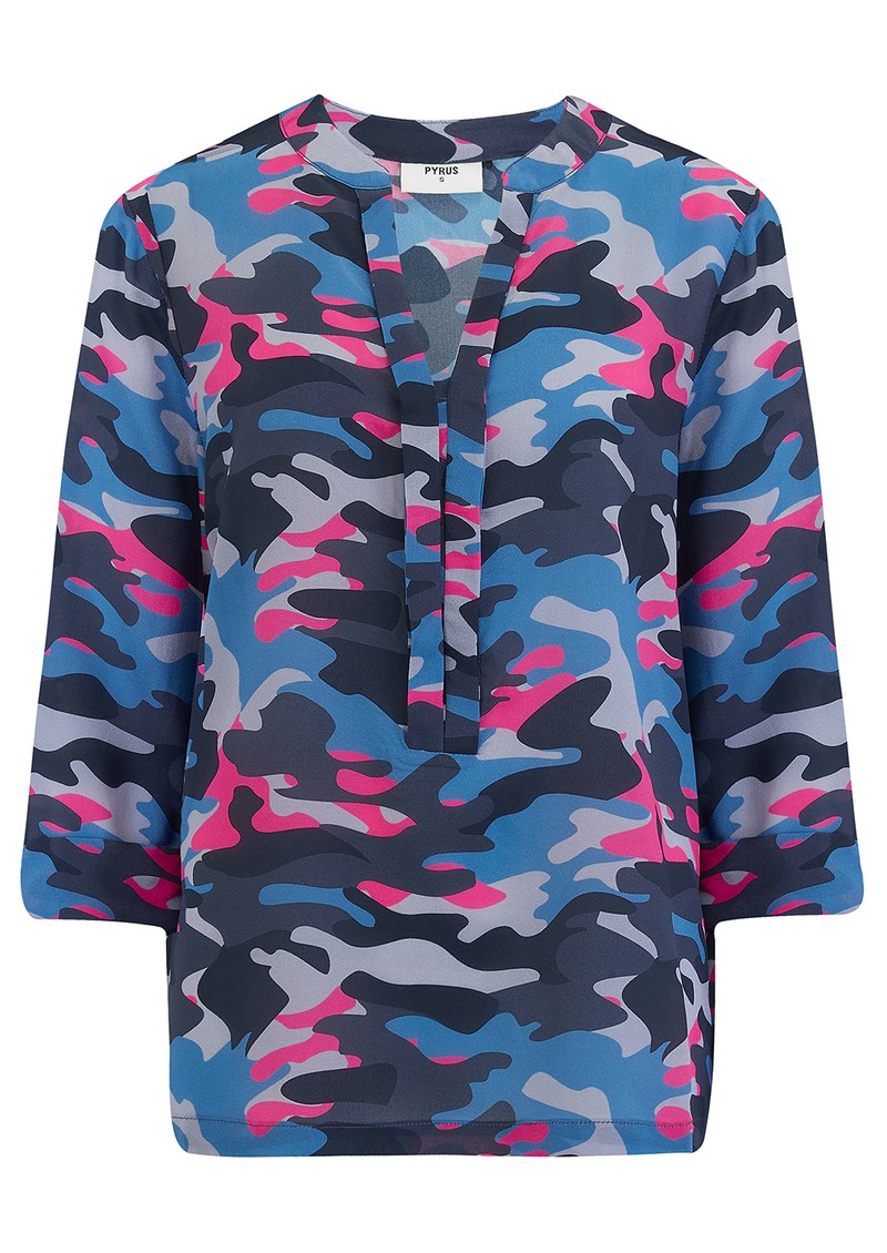 Exclusive Camo Paola Blouse - Camo main image