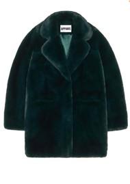 APPARIS Sophie Faux Fur Coat - Emerald