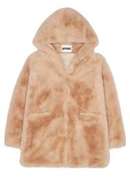 APPARIS Marie Faux Fur Coat - Sand