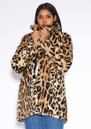 APPARIS Margot Faux Fur Coat - Leopard