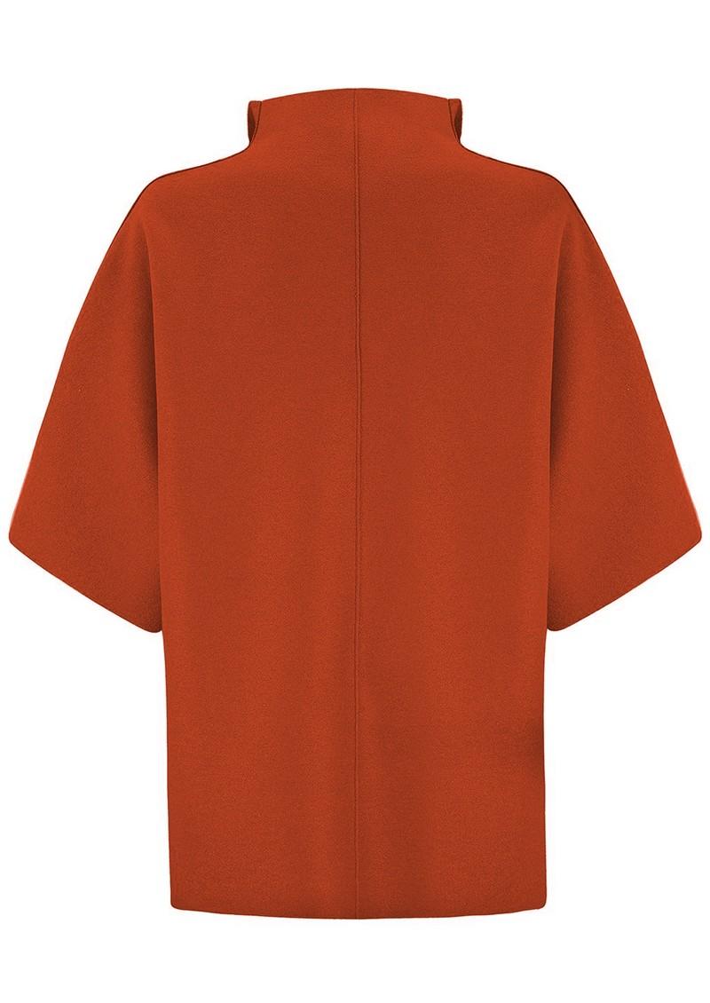 HARRIS WHARF Kimono Coat - Burnt Orange main image