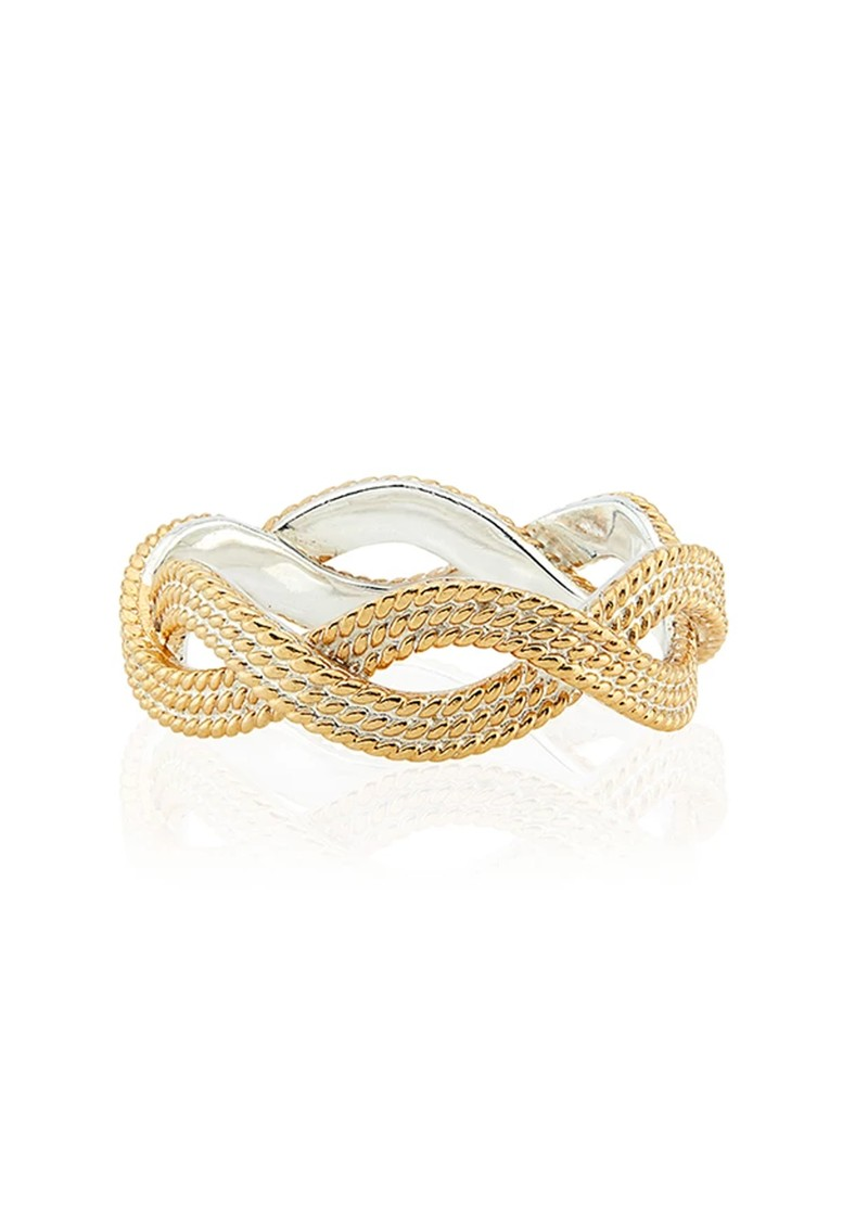 ANNA BECK Braided Stacking Ring - Gold main image