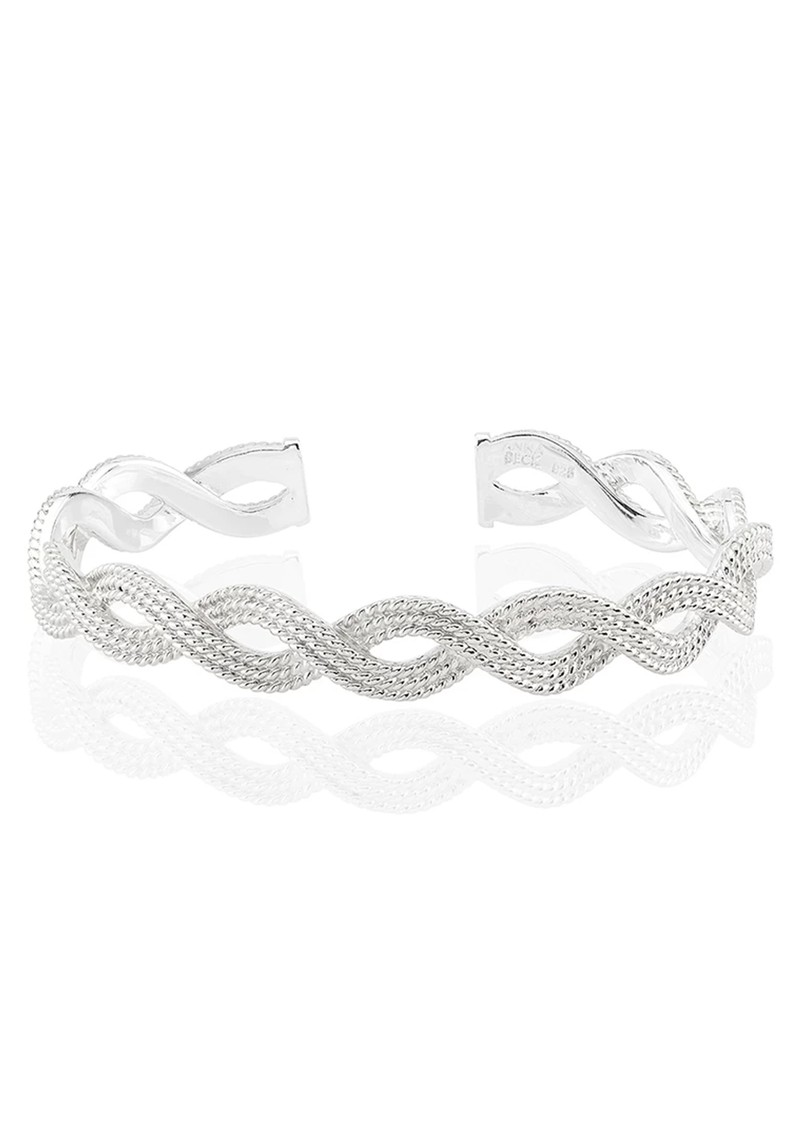 ANNA BECK Braided Stacking Cuff - Silver main image