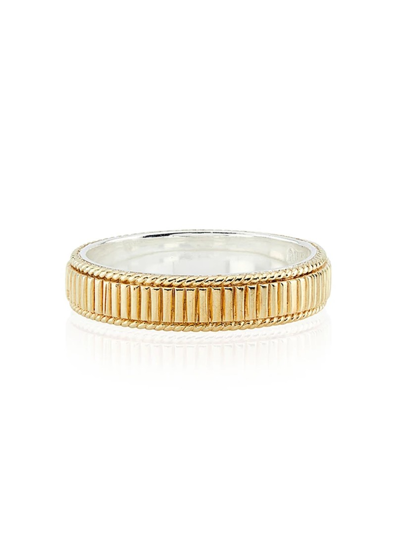 ANNA BECK Ribbed Stacking Ring - Gold main image