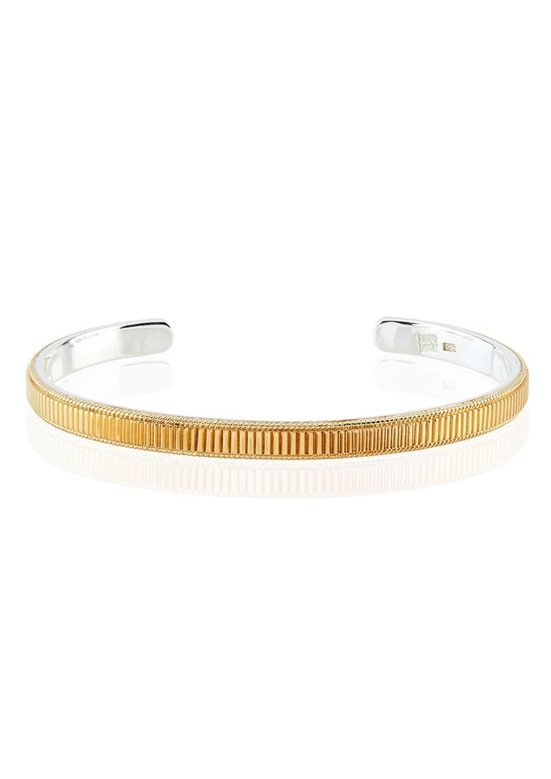 ANNA BECK Ribbed Stacking Cuff - Gold main image