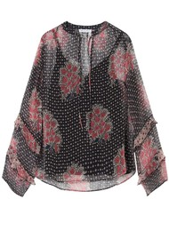 Lily and Lionel Rina Top - Batik Star Pink