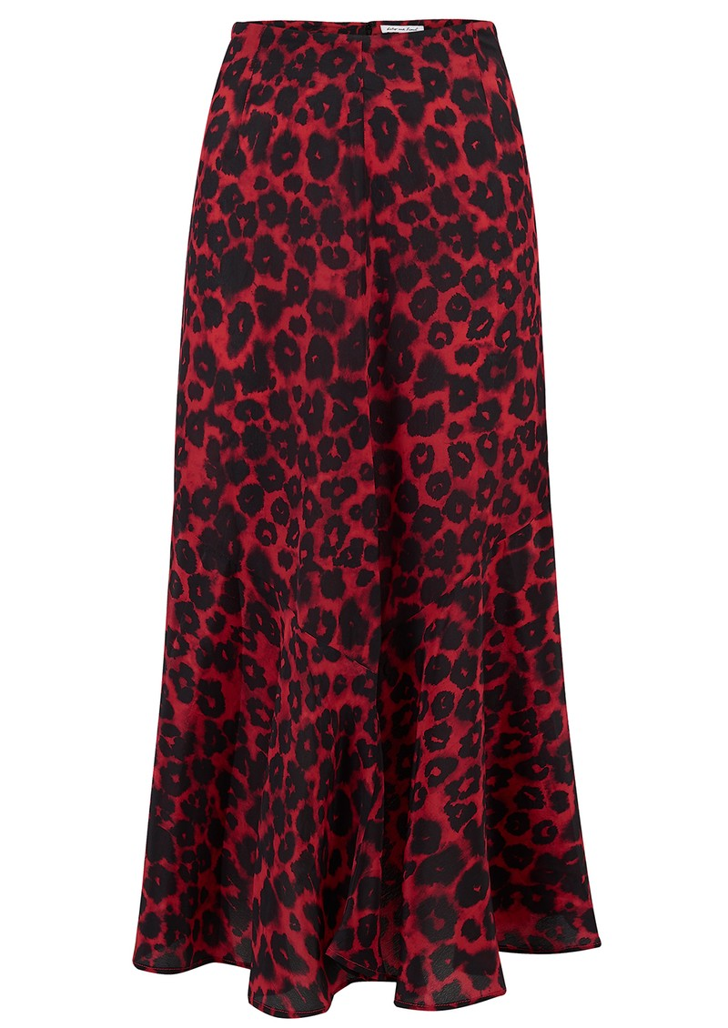 Lily and Lionel Exclusive Lottie Skirt - Isla Red main image