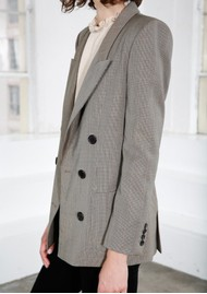 MAYLA Charlie Blazer- Brown Check