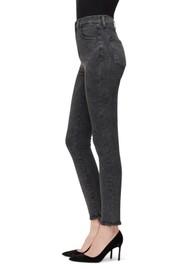 J Brand Leenah Super High Rise Ankle Skinny Jeans - After Hours Destruct