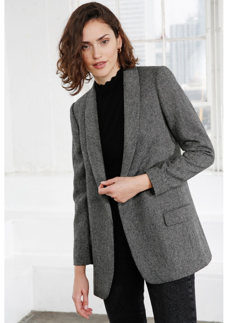 Kate Blazer - Grey Melange main image