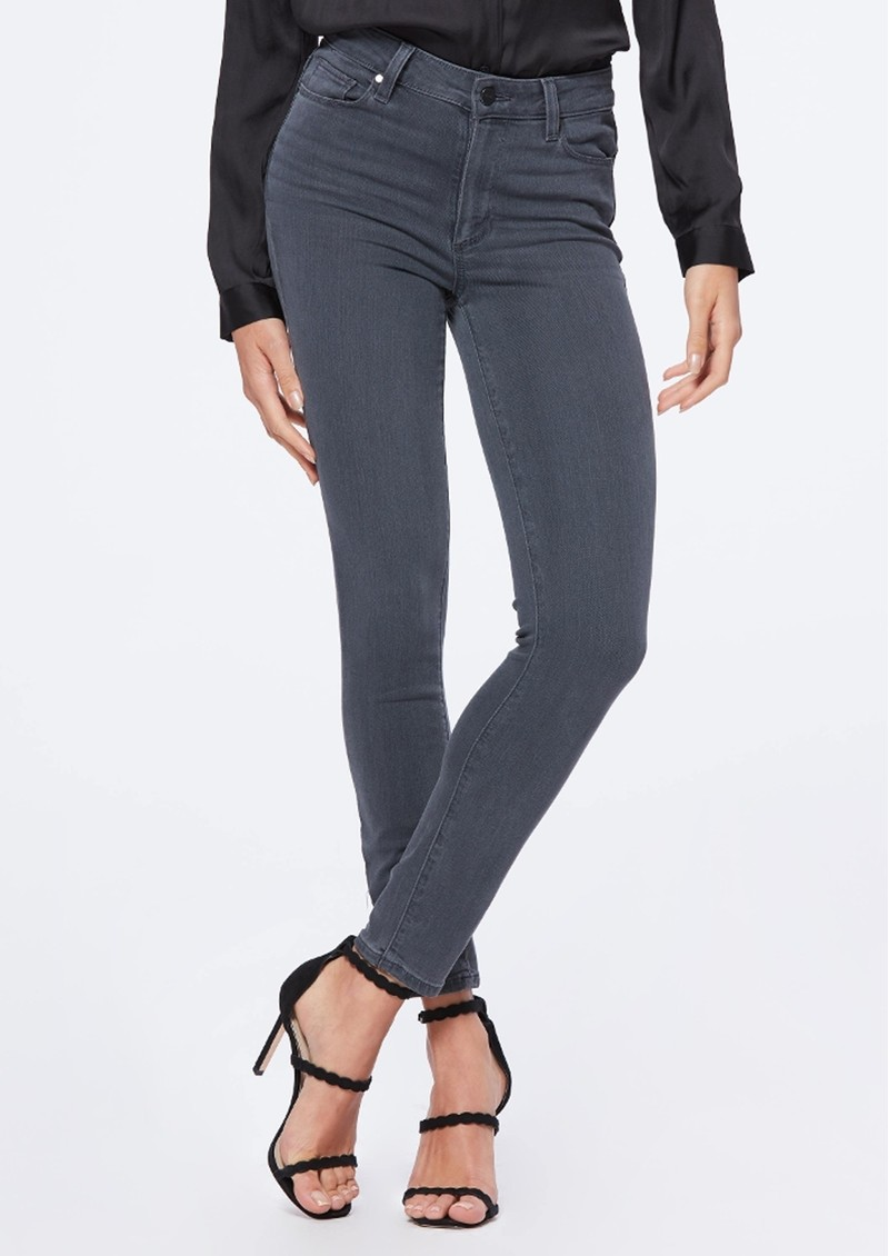 Paige Denim Hoxton Ultra Skinny Ankle Jean - Smokey Night main image