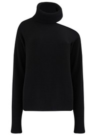 Paige Denim Raundi Turtleneck Jumper - Black